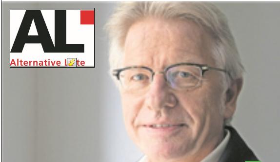AL-Kandidat Markus Bischoff könnte den Sprung nach Bern schaffen.