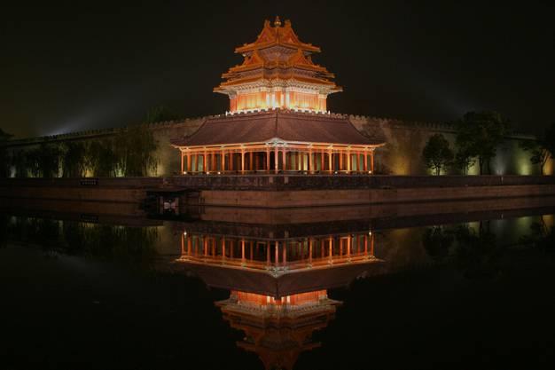 Die Verbotene Stadt in Peking.