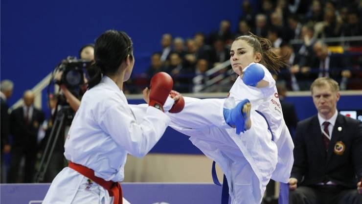Elena Quirici (rechts) siegte in Paris. Seit Anfang Jahr zeigt sie konstante Leistungen auf hohem Niveau. imago