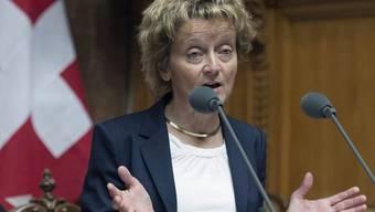 """""""Wenig befriedigender Status quo"""": Finanzministerin Eveline Widmer-Schlumpf (Archiv)"""