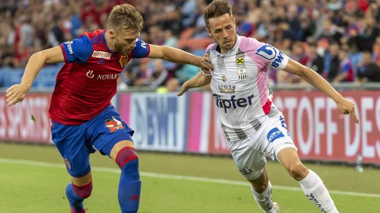 Der FC Basel verliert das Hinspiel gegen Linz mit 1:2.