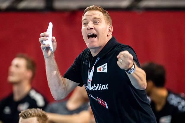 Der Schweizer Handball-Nationaltrainer Michael Suter sagt: «Wir haben Grosses vor.»