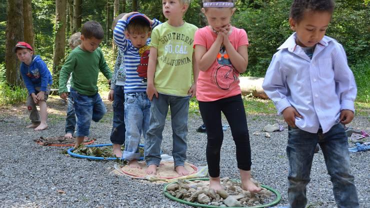 Spielgruppe Purzel Waldabschiedsfest