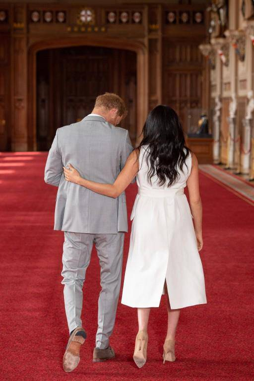 Meghan, Harry und Baby Sussex (© Getty Images)