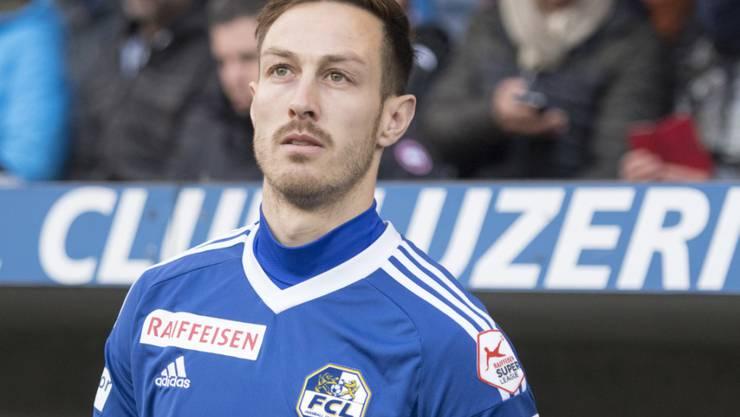 Innenverteidiger François Affolter verlässt den FC Luzern und wechselt in die USA zu San Jose Earthquakes