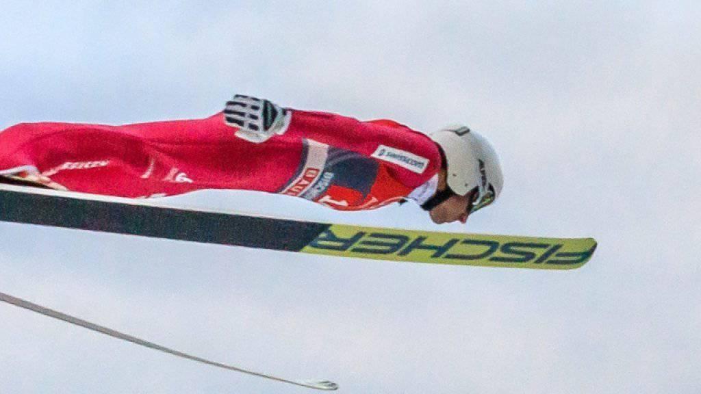 Simon Ammann liebt das Fliegen