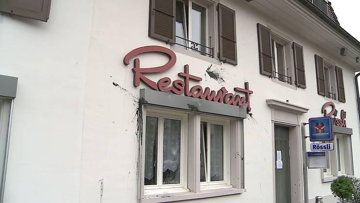 Das «Rössli» in Bellach war Ort einer Versammlung der rechtsextremen Pnos.