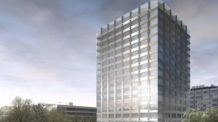 Der neue Leuchtturm der Life Sciences: Der Neubau auf dem neuen Campus Schällemätteli.