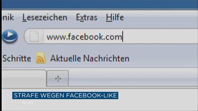 400 Franken Busse für Facebook-Like