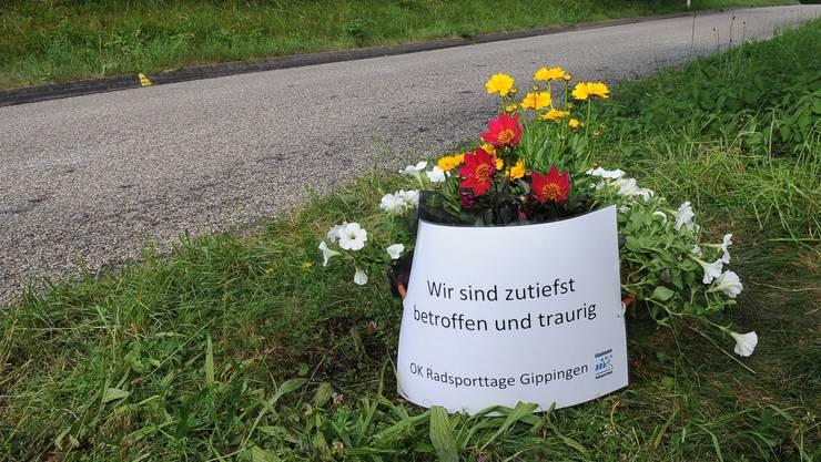 An dieser Stelle an einer Abfahrt vor Böttstein verunglückte der Radfahrer am Rennen der Gippinger Radsporttage tödlich. (Archiv)