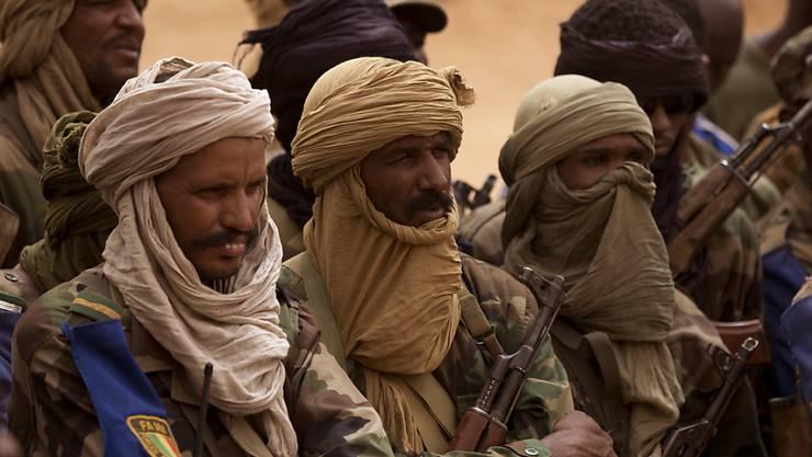 Tuareg-Soldaten in Mali (Symbolbild)