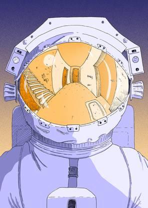 ...darin kommt auch ein Astronaut vor
