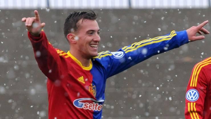 Seit Januar spielt der Ex-FCB-Junior Marco Aratore in Winterthur.