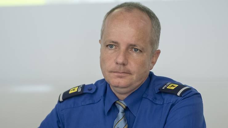 Informierte die Medien nach dem Unglück: Reto Pfister, Kommandant der Kantonspolizei Uri.