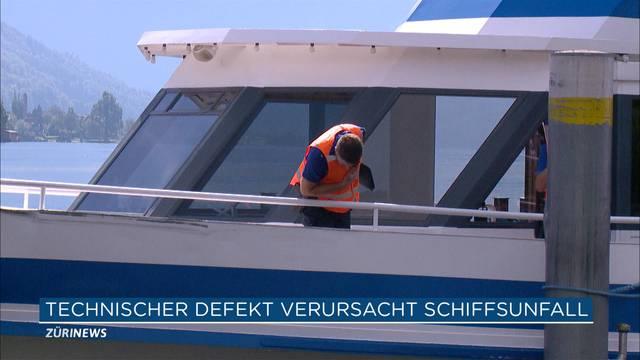 Schiffsunfall Zugersee: Technischer Defekt?
