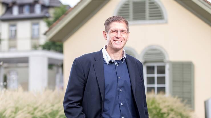 Einwohnerrat Miro Barp setzt sich für den Sport in Brugg ein.