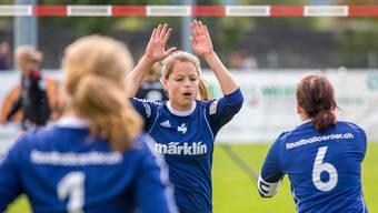 Die Frauen des STV Oberentfelden-Amsteg rehabilitieren sich am zweiten Spieltag mit zwei Siegen.