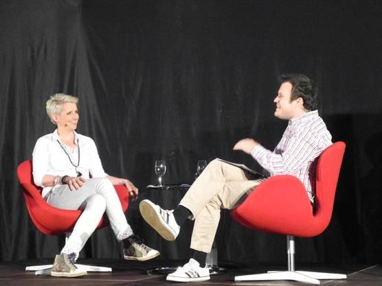 Steffi Buchli und Joel Gilgen