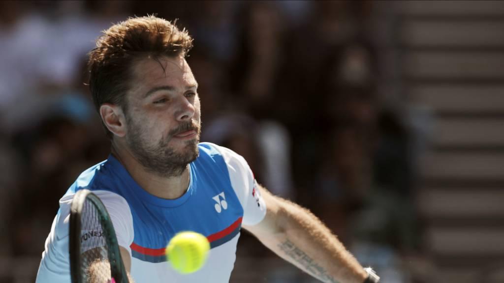 Stan Wawrinka zieht am Australian Open in die 2. Runde ein