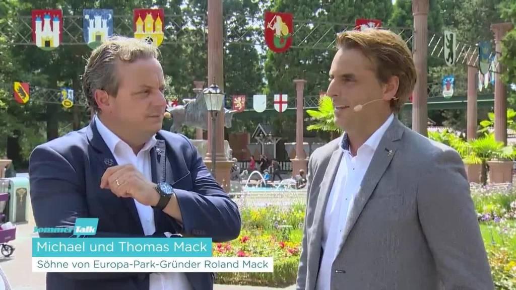 Michael und Thomas Mack, Unternehmer-Brüder aus der «Europa-Park»-Dynastie