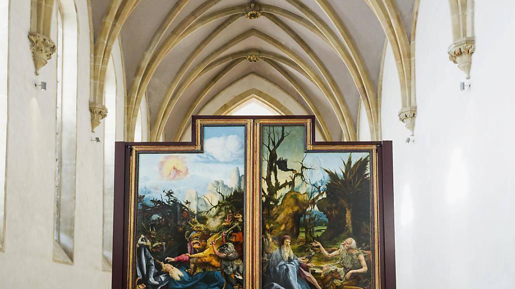 Der Isenheimer Altar von Matthias Grünewald im Museum Unterlinden in Colmar. (Archivbild)