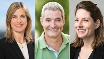 Severine Jegge, Thomas Schneider und Angela Kaiser-Michel (v. l.) wollen in den Oberrohrdorfer Gemeinderat.
