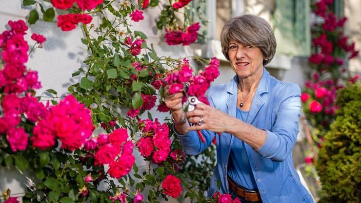 Tritt als Präsidentin des Schweizerischen Roten Kreuzes zurück: Annemarie Huber-Hotz.