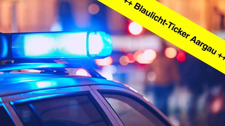 Im Blaulicht-Ticker finden Sie die aktuellen Aargauer Polizeimeldungen.