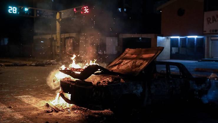 Ausschreitungen bei Protesten: In Venezuela sind zwei Menschen erschossen worden.