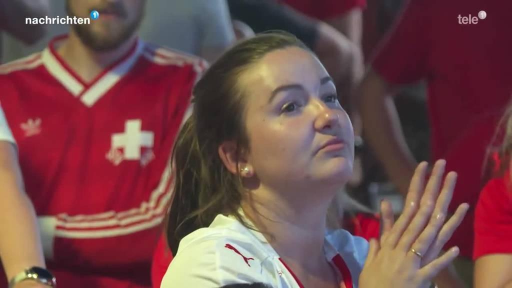So fieberten die Fans mit der Schweizer Nati