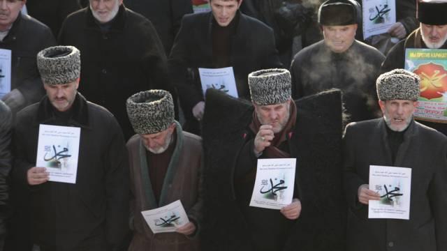 "Kundgebung gegen ""jene, die die islamische Religion beleidigen"""