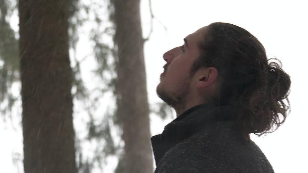 Waldbadeguide: Hassan Hjaij in seinem Element