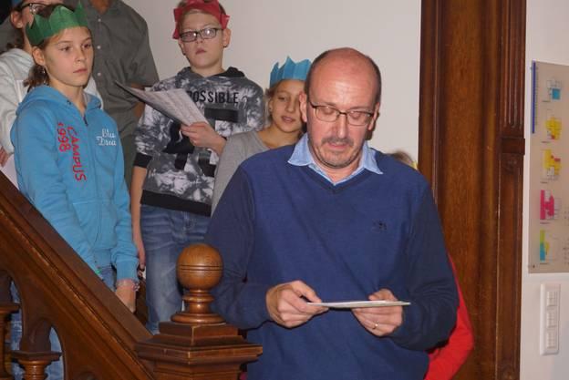 Museumsleiter Daniel Kaysel eröffnete die feierliche Vernissage