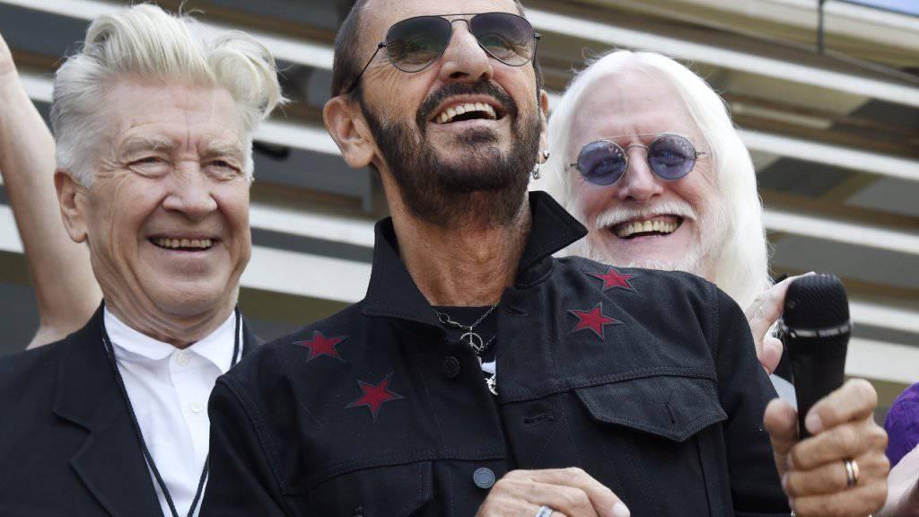 Darf sich nun «Sir» nennen: der 77-jährige ehemalige Beatles-Schlagzeuger Ringo Starr. (Archivbild)