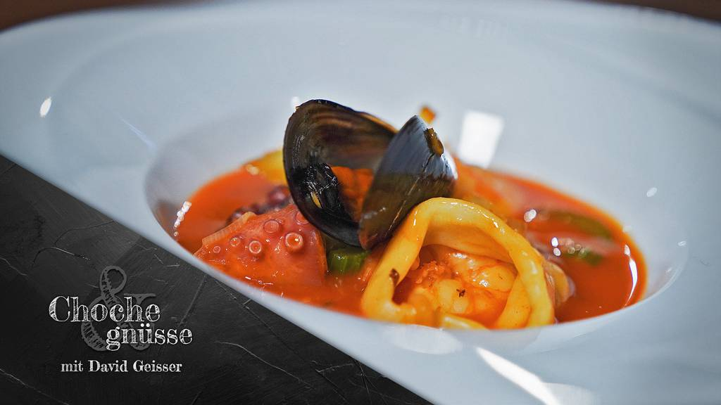 Meeresfrüchte-Caldeirada