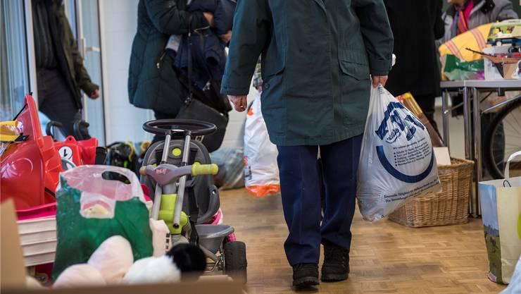 Kinderspielzeug, Kleider, Gebrauchsgegenstände: Vieles wurde bei der Spendenaktion abgegeben.