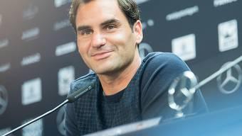 Kehrt in Stuttgart gut gelaunt und optimistisch in den Tenniszirkus zurück: Roger Federer