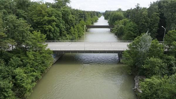 Die Strassenbrücke zwischen Luterbach und Zuchwil soll ersetzt werden.