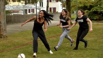 Spass und Spiel beim Schulsporttag des Haldenschulhauses