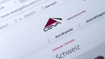 Die Logistikfirma Ceva wagt den Sprung an die Börse. (Archiv)