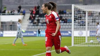 Ramona Bachmann (hier im Schweizer Dress) steht mit Wolfburg im Final der Champions League