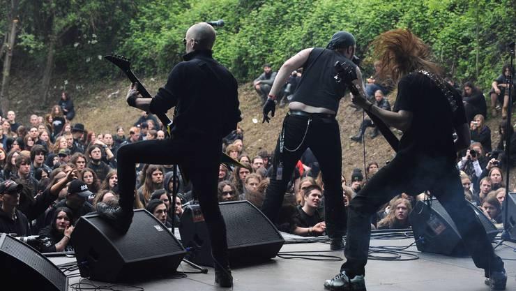 «Shining» am Metalfest