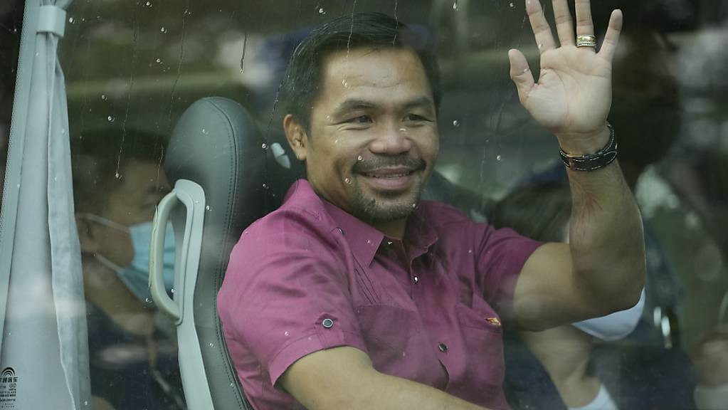 Manny Pacquiao ist bereits 2010 in die Politik gegangen. Foto: Aaron Favila/AP/dpa