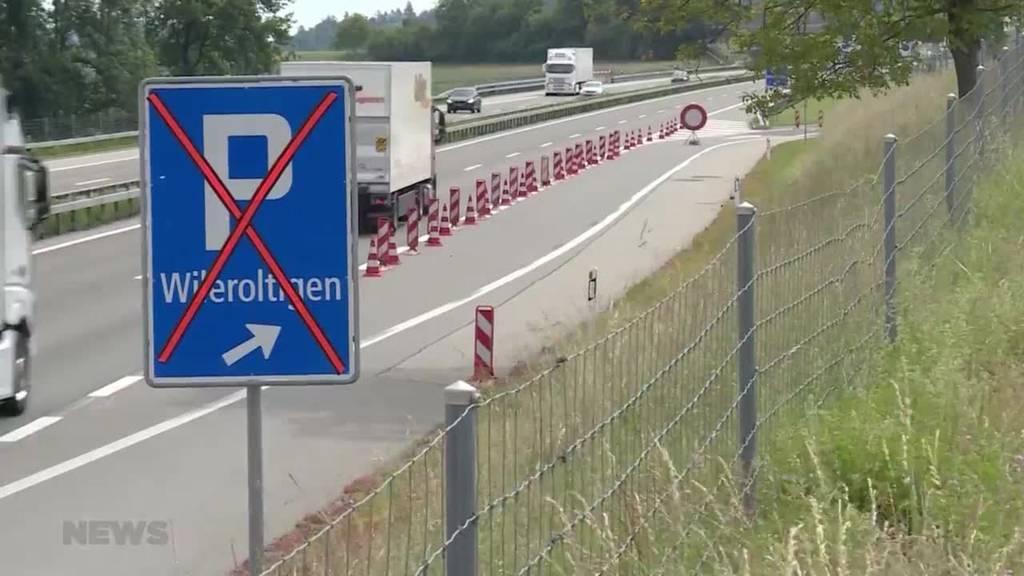 Fahrende sorgen bei der Raststätte in Wileroltigen für Aufregung