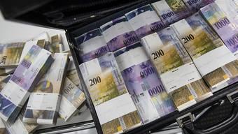 Der Kanton Aargau erhält von der Schweizerischen Nationalbank voraussichtlich 104 Millionen Franken. (Symbolbild)