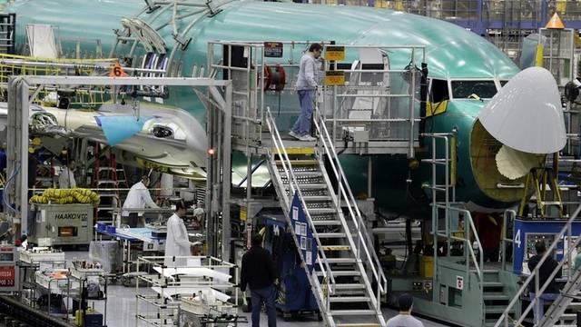 Boeing-Produktionshalle in Renton im Bundesstaat Washington (Symbolbild)