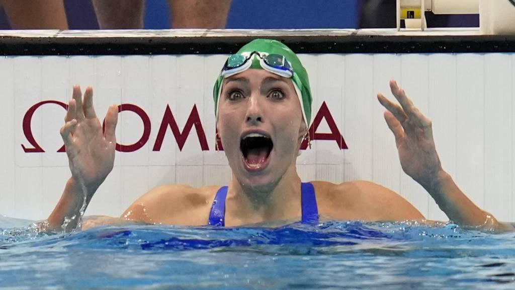 Tatjana Schoenmaker schwamm Weltrekord