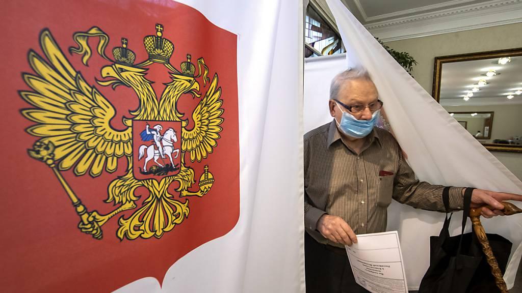 Proteste gegen «ewigen Putin» bei Verfassungsabstimmung