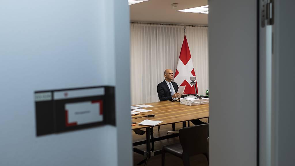 Opfer eines Erpressungsversuchs: Innenminister Alain Berset. (Archivbild)