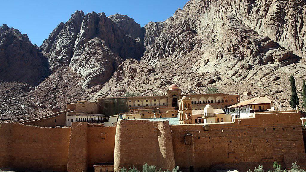 Bewaffnete haben einen Polizeibeamten in der Nähe des weltberühmten Katharinenklosters auf der Sinai-Halbinsel getötet. (Archivbild)